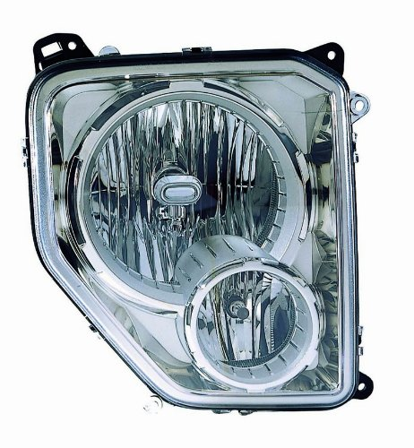 Depo 333-1186L-ASF Jeep Liberty Left Hand Side Head Lamp Assembly