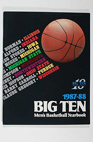 1987 88 Big Ten Men S Basketball Yearbook Michigan State Michigan