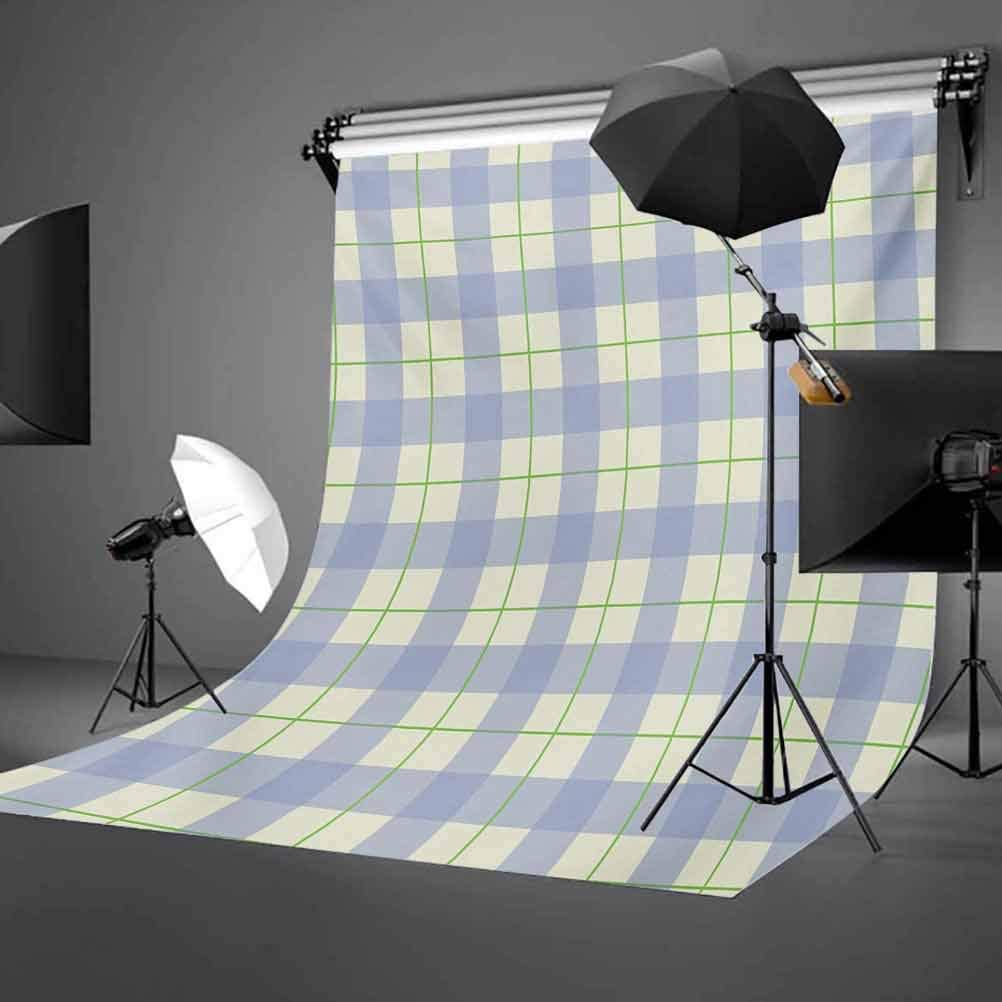 Celtic Style Classic Design Scottish Thin Lines Traditional Tile Background for Photography Kids Adult Photo Booth Video Shoot Vinyl Studio Props Checkered 10x12 FT Photography Backdrop