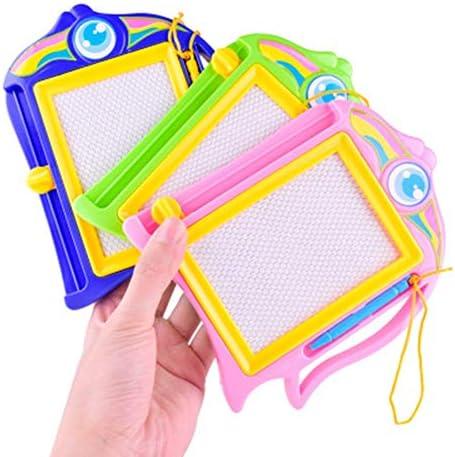 子どもの描画ボード 子供の子供のためのカラフルな落書き製図板手書きパッドの学習のおもちゃボード 磁気子供用ライティングボード (色 : Random, Size : 12.5x16cm)