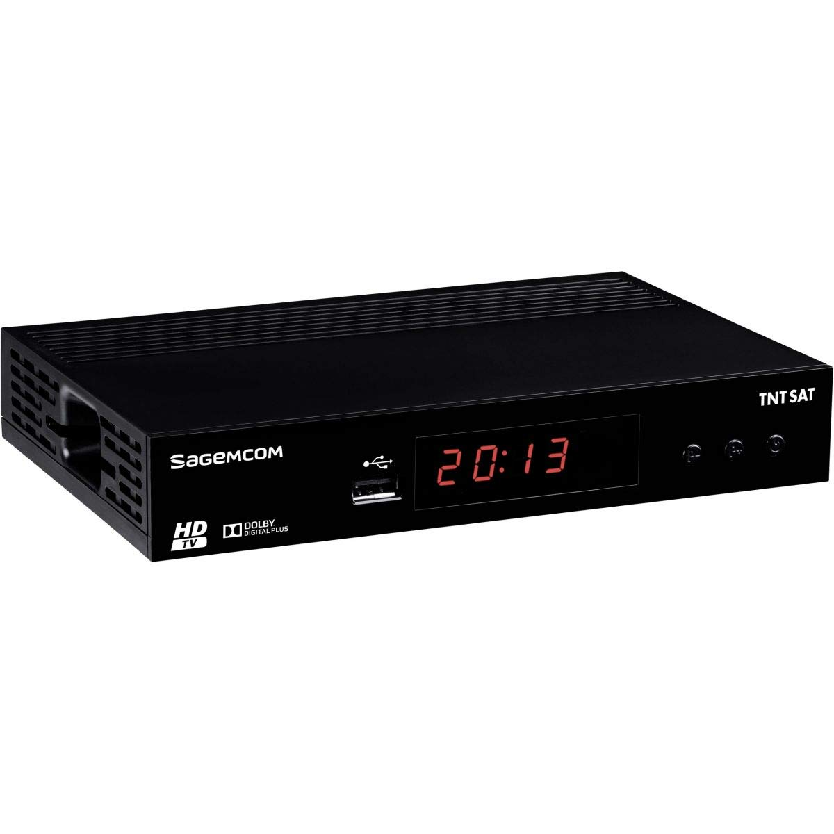 Sagemcom DS81 HD - Receptor Satellite Astra + Tarjeta TDT Sat V6 ...