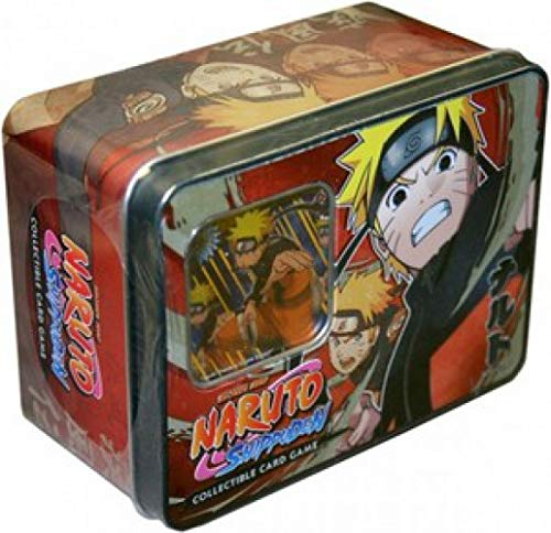 (Bandai Shippuden Card Game Unbound Power Naruto Uzumaki Collector Tin)
