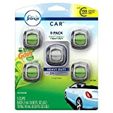 febreeze auto air freshener - Febreze Car Air Freshener, Set of 5 Clips, 4 Gain Scent, 1 Heavy Duty