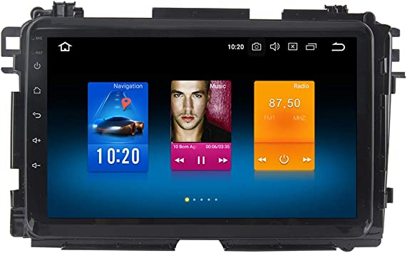 Dasaita Android 8.0 Estéreo para Coche para Honda Vezel HR-V HRV 2014 2015 2016 2017 GPS Radio de navegación con Pantalla de 9 Pulgadas 4G Ram Head Unit: Amazon.es: Electrónica