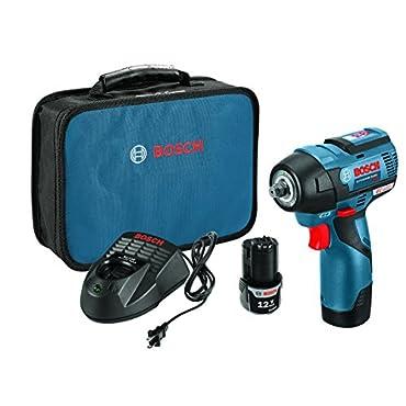 Bosch PS82-02 12V Max EC Brushless 3/8 Impact Wrench Kit