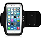 "Mpow Sweat-proof Armband Case w/ Key Holder for iPhone 6 (4.7"") 6S Suitable for Running Sport Exercise Gym Jogging Workout Biking Hiking Canoeing Walking Horseback Riding Gardening Golfing Shopping Rollerblading Downhill Housework & More"