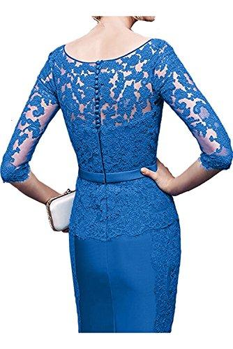 Damen La Jugendweihe Cocktailkleider Braut Marie Royal Brautjungfernkleider Etuikleider Blau Kurzes Abendkleider Kleider prwp4Eq