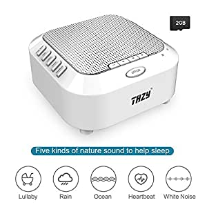 white noise machine thzy portable sleep sound machine with 5 noise options and. Black Bedroom Furniture Sets. Home Design Ideas