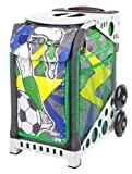 Zuca World Cup inspired Striker roller bag- choose your frame color! (white frame)