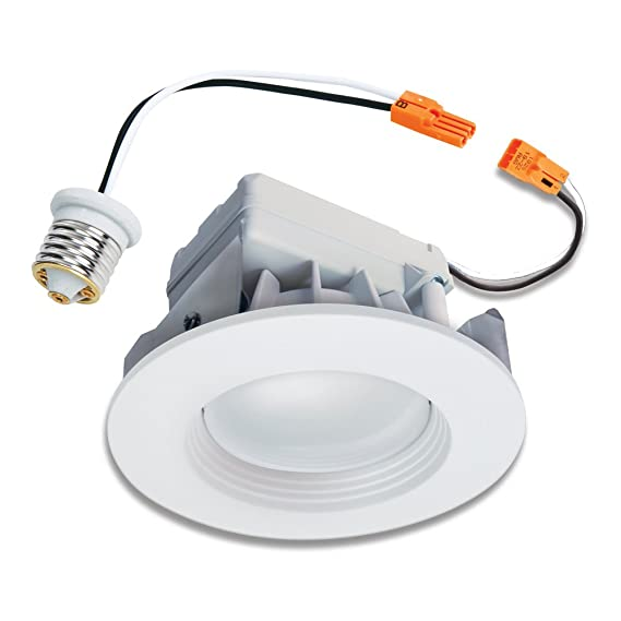 halo recessed led rl460wh830pk 4 inch retrofit module and trim
