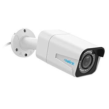 Reolink PoE Camera 5MP Super HD 4X Optical Zoom Outdoor Indoor Video  Surveillance Work with Google Assistant, IP Security IR Night Vision Motion