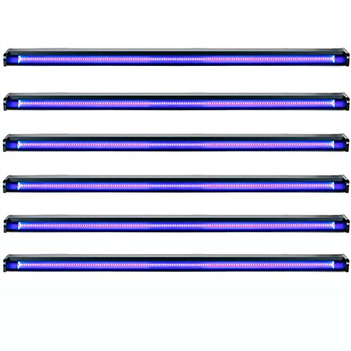 American DJ Startec 48'' 20W Stage Party UV LED Black Light Strip Bar (6 Pack) by ADJ Products