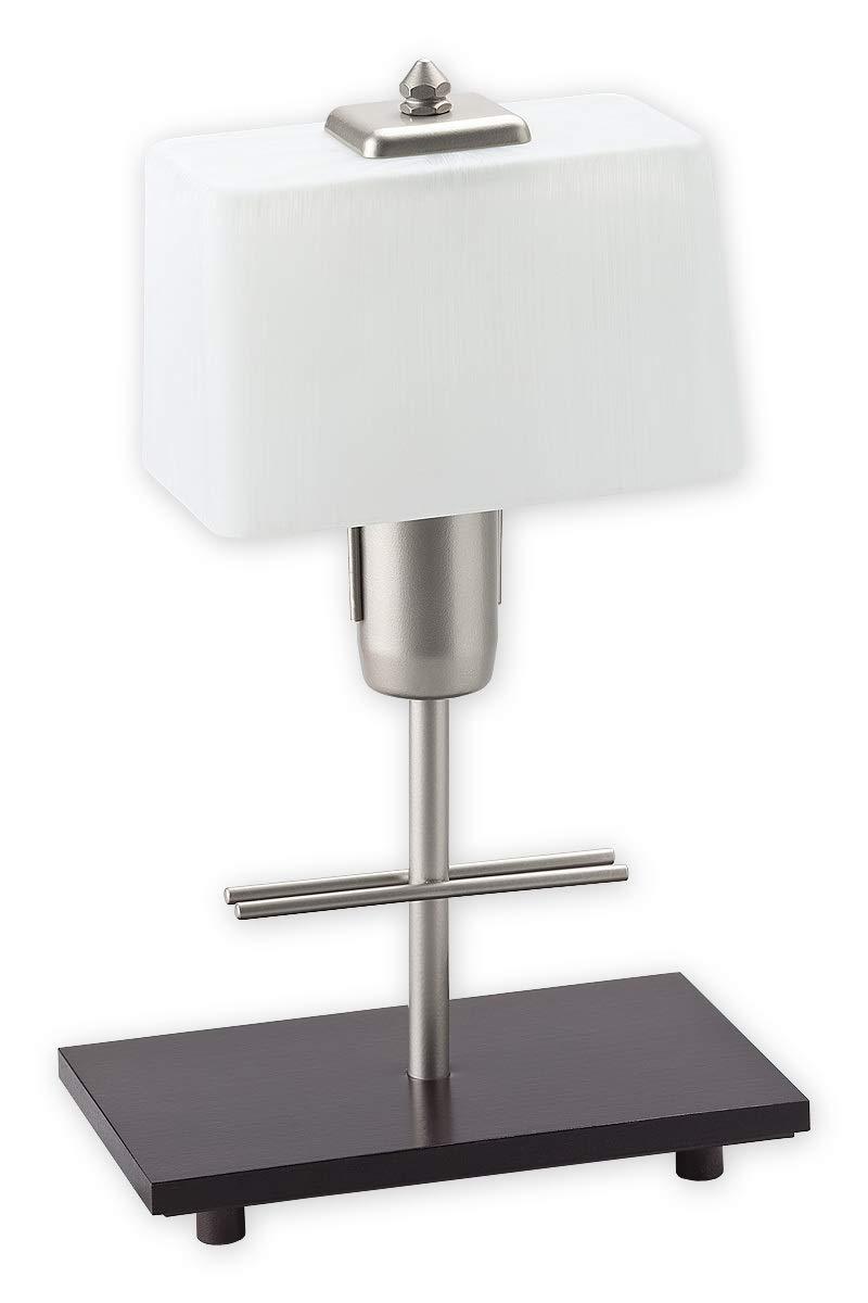 Sabor Completo - Lámpara de mesa de estilo Bauhaus (Madera ...