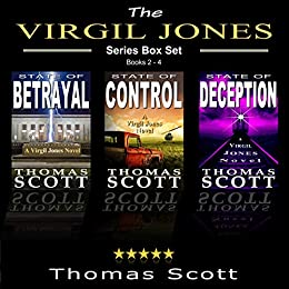 The Virgil Jones Mystery Thriller Series: Books 2-4 (The Virgil Jones  Series Box Set)