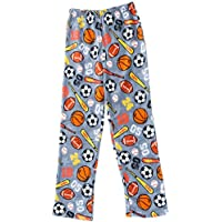 Prince of Sleep Plush Pajama Pants - Fleece PJs for Boys