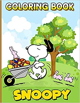 Snoopy Coloring Book Snoopy Color Wonder Creativity Adult Coloring Books For Men And Women Unofficial High Quality Khan Archie 9798637405664 Amazon Com Books