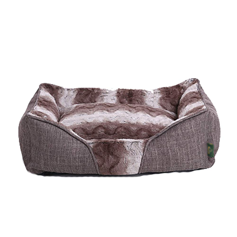 A X-Large A X-Large Deluxe Bolster Pet Bed for Dogs & Cats,Soft Dog Bed Cat Bed Vintage Bed for Small Medium Dogs with Detachable Washable Easy Maintenance Dog Bed,A,XL
