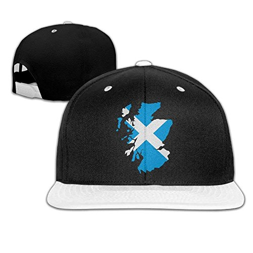 - DEFFWB Scotland Men and Women Baseball Caps,Fashion Flat Bill Hats For Men Womens