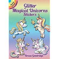 Glitter Magical Unicorns Stickers (Dover Little Activity Books Stickers)