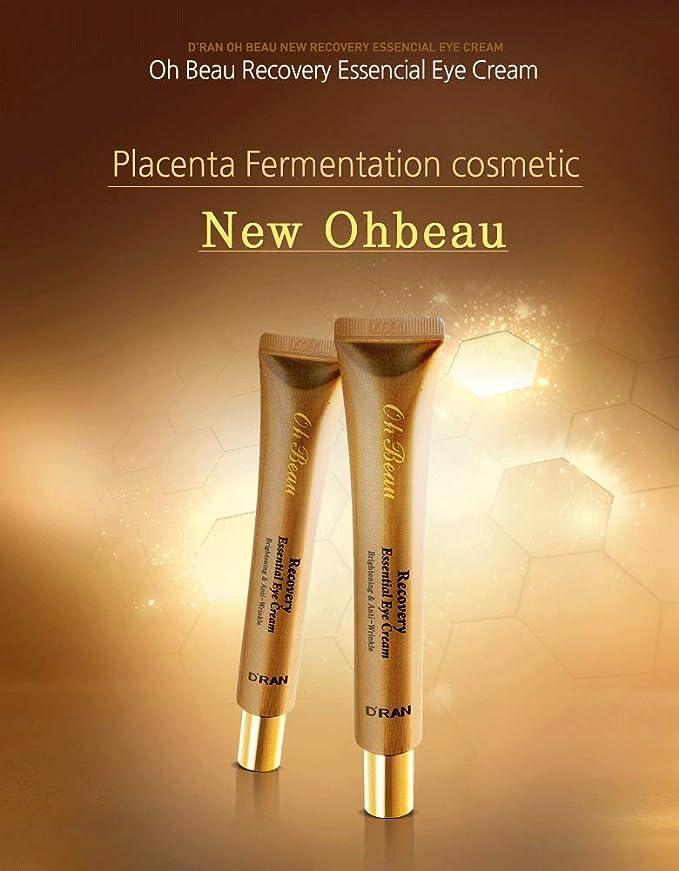 Amazon.com: DRAN Korean Cosmetics Skincare Ohbeau Recovery Essential Eye Cream DRAN: Beauty