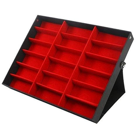 Gutyan Caja de Almacenamiento para Gafas, Gafas con Cubierta ...