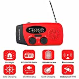 Hand Crank Emergency Weather Radio, Solar Battery
