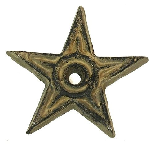 Cast Iron Star Center Hole Small Set of ()