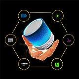 Portable Mini Bluetooth Speaker, Dr.Queen LED