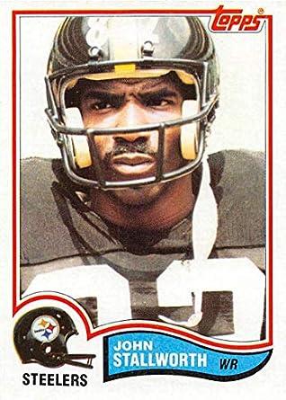 eacc56e34c0 Amazon.com  1982 Topps Football  219 John Stallworth Pittsburgh ...