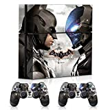 Controller Gear Batman Arkham Knight Faceoff - PS4 Combo Skin Set for Console and Controller from Controller Gear