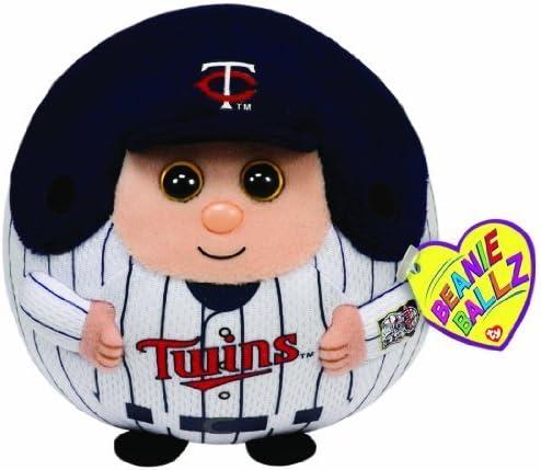 MLB 4 Inch Ballz FREE SHIPPING MWMT Minnesota Twins Ty Beanie Ballz