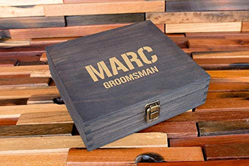 Personalized Cigar Box Rustic Cigar Box, Groomsmen Cigar Box, Best Man Gift, Wooden Cigar Box, Wood Gift Box, Groomsmen Gift Box, Vintage Box, Wedding Party Box