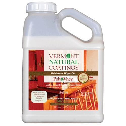 Vermont Natural Coatings 101151 Polywhey Heirloom Wipe-on, Satin by Vermont Natural Coatings (Image #1)