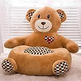 Pet Bed (45*45cm) Teddy Bear, Brown