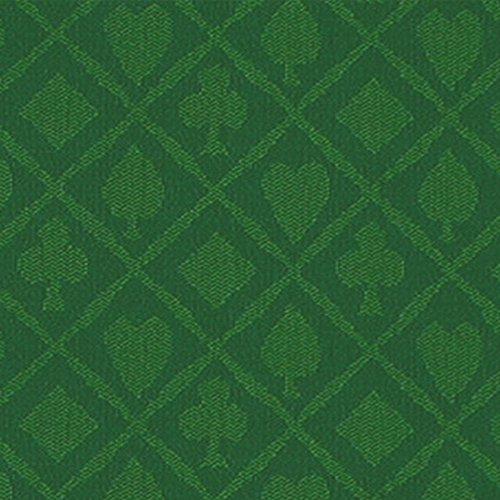 Brybelly Polyester Suited Speed Cloth, 10-Feet, Green (Cloth Poker Speed)