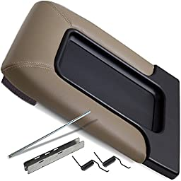 Center Console Lid Kit for Select GM Vehicles - Replaces 19127366 - Beige