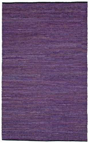 Purple Leather Matador 8'x10' Rug