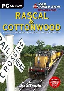 Rascal & Cottonwood Add-On for Rail Simulator (PC CD) [Importación inglesa]
