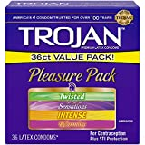 Best Condoms - Trojan Condom Pleasure Pack Lubricated, 36 Count Review