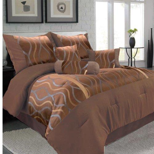 Bronze Comforter Set - 5