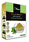 mi nature Henna Powder for hair color red/brown, Lawsonia Inermis, 100% Pure, Natural and Organic From Rajasthan, India (227g/(1/2 lb) For Hair Dye/Color
