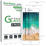 iPhone 8 Plus, 7 Plus, 6S Plus, 6 Plus Screen Protector, amFilm Tempered Glass Screen Protector for Apple iPhone 8 Plus, 7 Plus, iPhone 6S Plus, 6 Plus [5.5