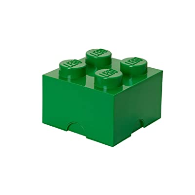 LEGO Large Storage Brick 4 Green Box Furniture Unit New: Home & Kitchen