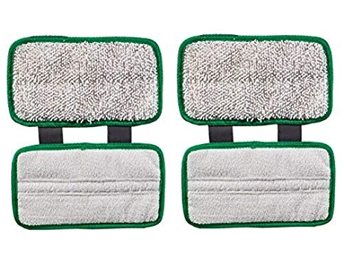 Cleaning Solution Replacement - Synonymous 2 PK Replacement Pads Compatible with Shark Sonic Duo Wood & Hard Floor and Golden Rule Microfiber Clean Screen Cloth