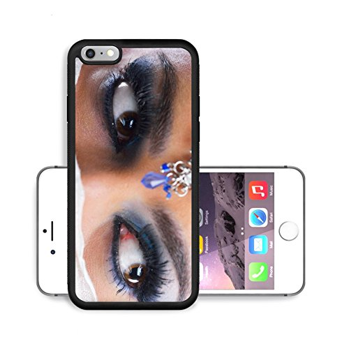 Liili Premium Apple iPhone 6 Plus iPhone 6S Plus Aluminum Backplate Bumper Snap Case IMAGE ID: 20148690 Fashion Beauty Beautiful Woman With hairsyle and Luxury Makeup isolated on white background in s