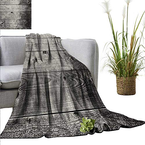 - AndyTours Weighted Blanket for Kids Dark Grey,Ombre Style Grunge Wooden Planks Rustic Timber Oak Wall Rough Texture Image,Black Pale Grey Weighted Blanket for Adults Kids Better Deeper Sleep 50