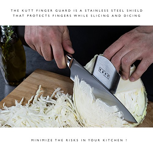 Kutt Chef Knife Set, 8 inch Professional Kitchen Knife, German High Carbon Stainless Steel Utility Knife, Work Sharp Chopping Knife