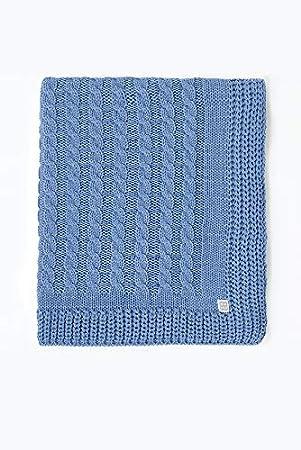 Minutus Babydecke Dralon 100 Cm Blau Chero