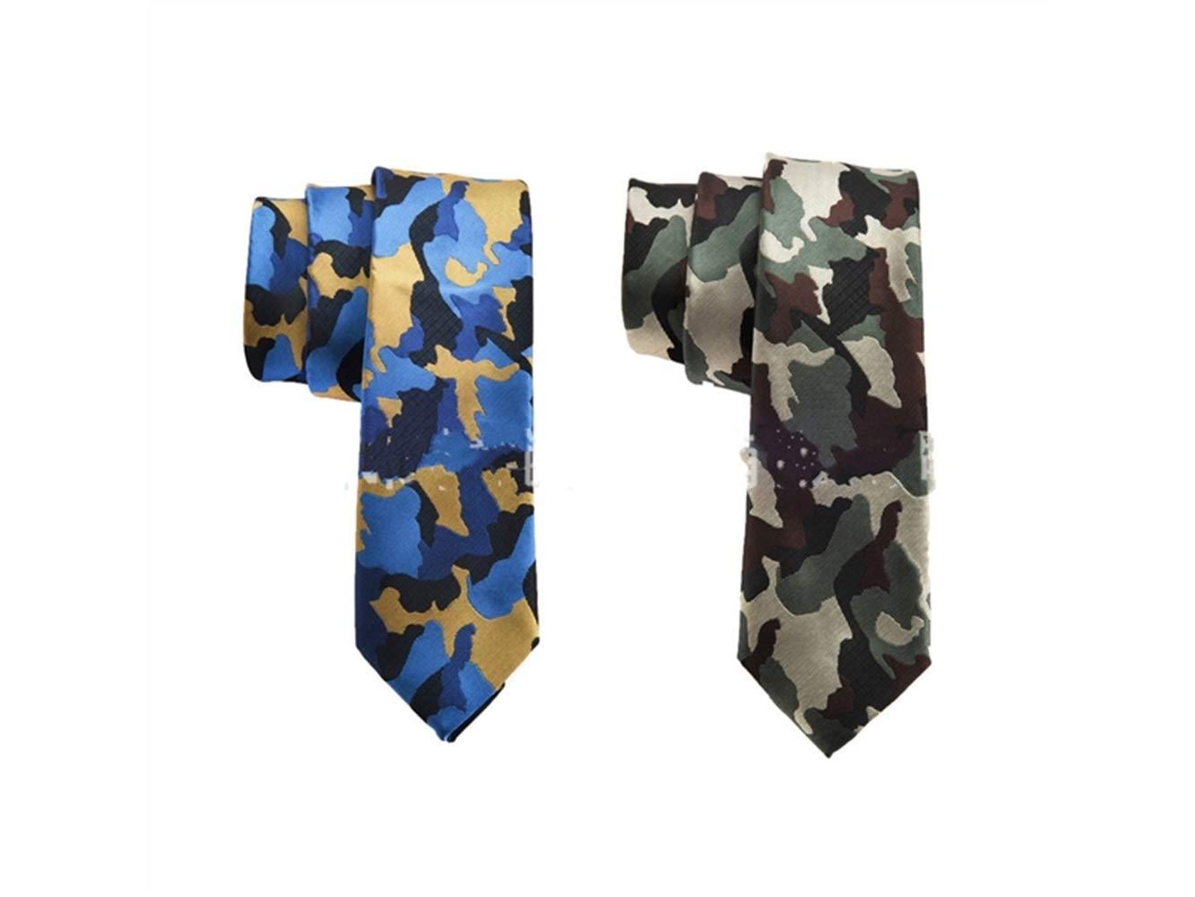 Cualquier ocasión Corbata de camuflaje de los hombres cómodos para ...