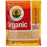 Organic Tattva Yellow Split Lentils Mung Beans (Moong Dal) 500g Certified By USDA